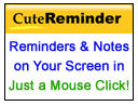 Cute Reminder Products