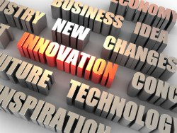Image of innovation management words