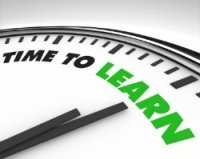 Image of time to learn