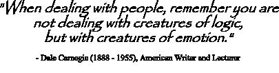 Dale Carnegie Quote