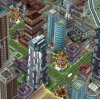 Image of a SimCity style city