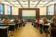 Image of a large university lecture hall