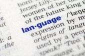 Image of language definition