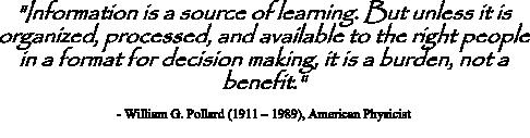 Pollard Quote