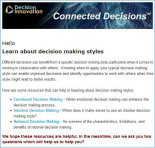 Picture of Connected Decisions Newsletter