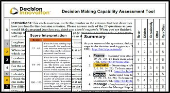 Decision making capability assessment image