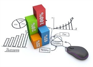 Picture of business strategy items