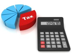 Image of tax calculator